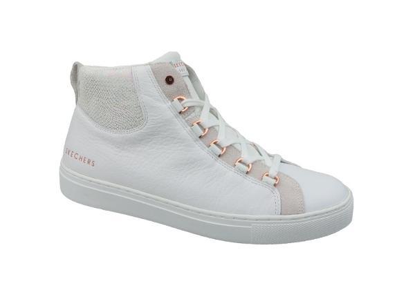 Naisten vapaa-ajan kengät Skechers Side Street Core-Set Hi W 73581-WHT
