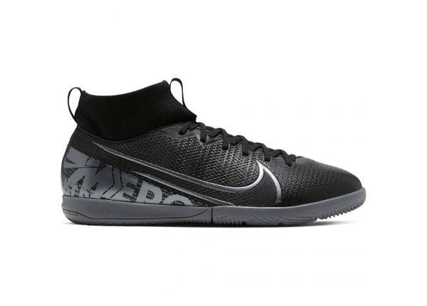 Детские футбольные бутсы Nike Mercurial Superfly 7 Academy IC JR AT8135 001 черные