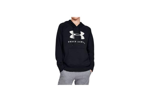 Naisten huppari Under Rival Fleece Sportstyle Graphic Hoodie W 1348550-001