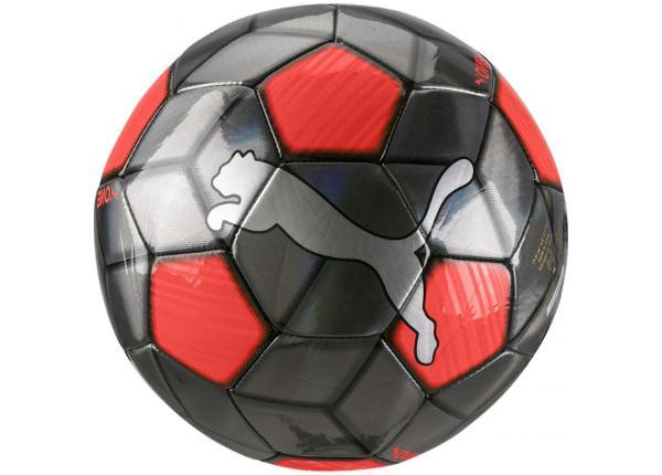 Jalkapallo Puma One Strap M 083272 01 harmaa-punainen