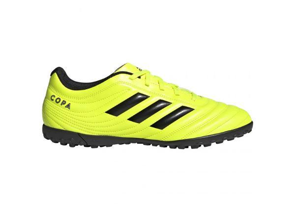 Miesten jalkapallokengät Adidas Copa 19.4 TF M F35483 keltaiset