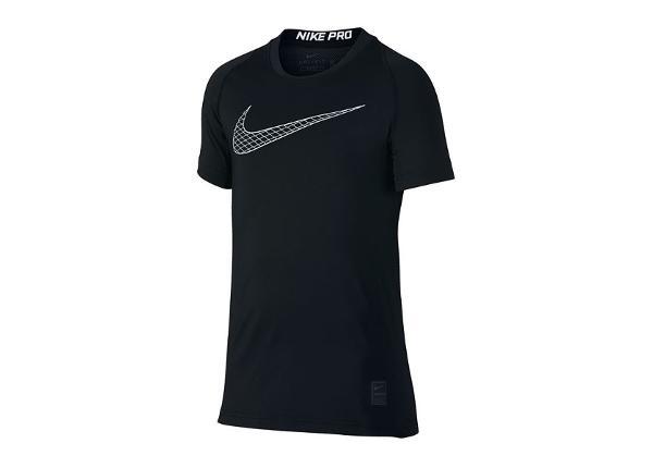 Lasten treenipaita Nike Pro Top SS Junior 858234-010