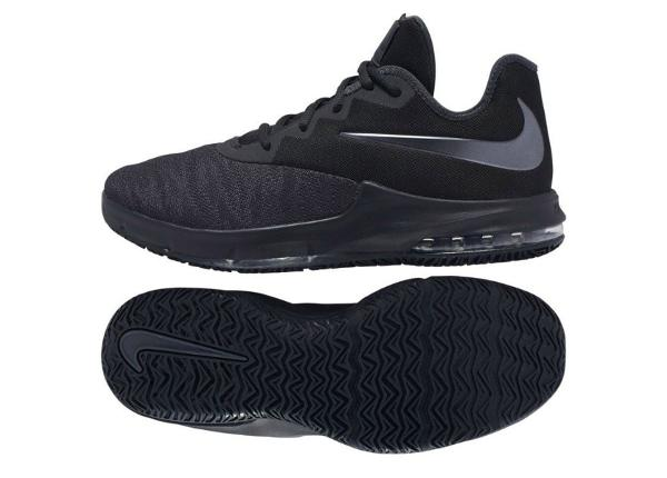 Miesten koripallokengät Nike Air Max Infuriate III Low W M AJ5898 007 mustat