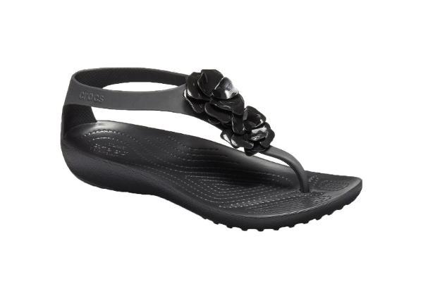 Naisten sandaalit Crocs Serena Embellish Flip W 205600-060