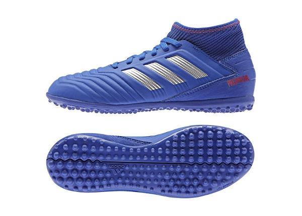 Lasten jalkapallokengät Adidas Predator 19.3 TF JR CM8546 siniset