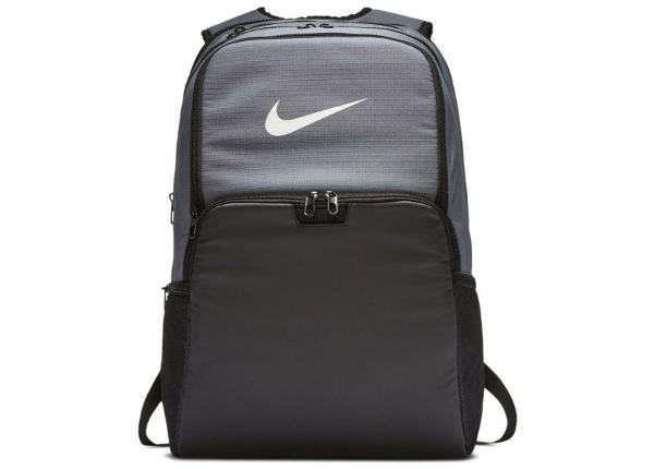Selkäreppu Nike Brasilia BA5959 026 harmaa