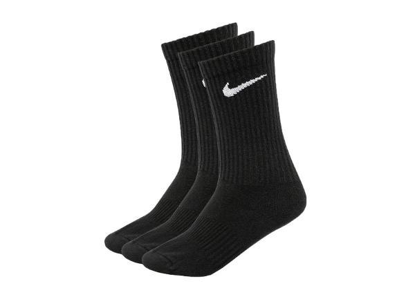 Aikuisten urheilusukat Nike Everyday Lightweight Crew 3-pakkaus SX7676-010