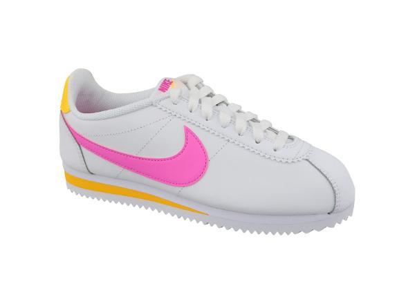 Naisten vapaa-ajan kengät Nike Classic Cortez Leather W 807471-112
