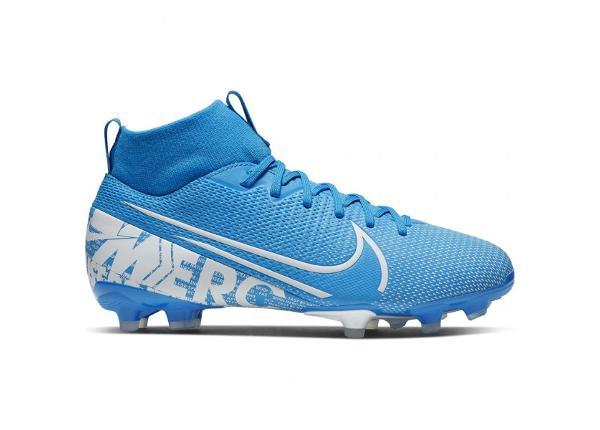 Jalgpallijalatsid lastele Nike Mercurial Superfly 7 Academy FG/MG JR AT8120 414 sinine