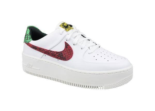 Naisten vapaa-ajan kengät Nike Air Force 1 W Sage Lo Premium W BV1979-100