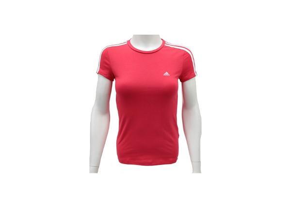 Naisten treenipaita Adidas Ess 3 S Tee W Z35867