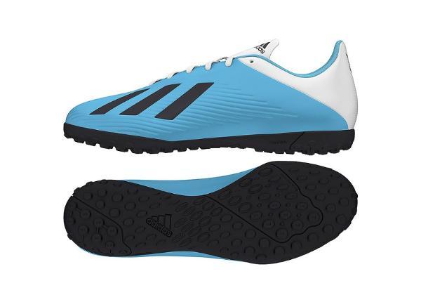 Miesten jalkapallokengät Adidas X 19.4 TF M F35345 siniset