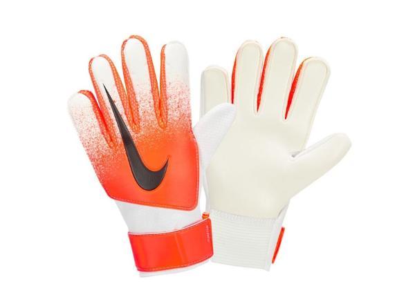 Lasten maalivahdin hanskat Nike GK Match SU19 JR GS3371 101 oranssi-valkoinen