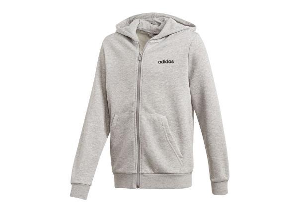 Lasten huppari Adidas JR Essentials Linear FZ Hoodie Junior DV1819