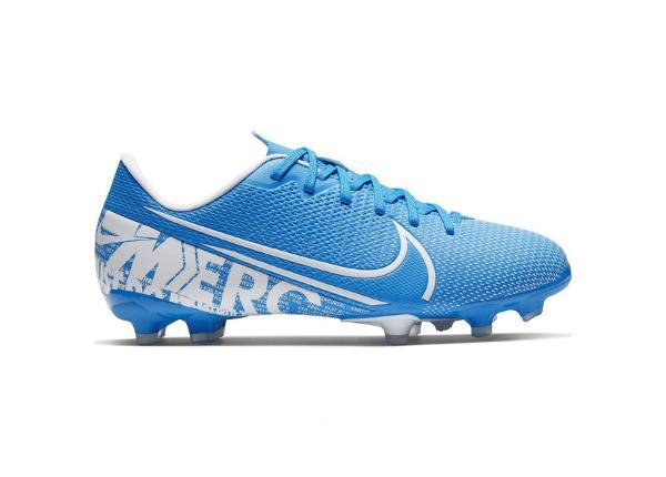 Jalgpallijalatsid lastele Nike Mercurial Vapor 13 Academy FG/MG JR AT8123 414 sinine