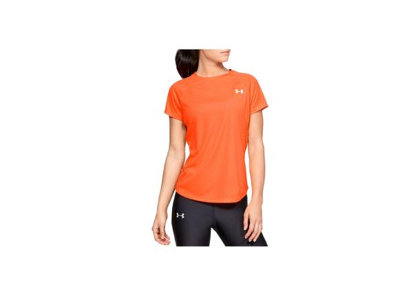 Naisten treenipaita Under Armour Speed Stride Short Sleeve W 1326462-836