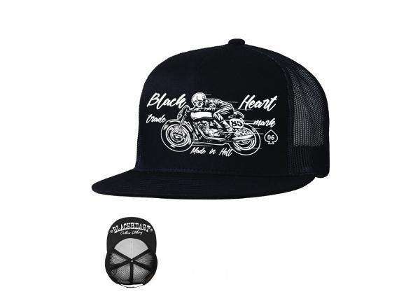 Nokamüts meestele Hat BLACK HEART Vintage Trucker