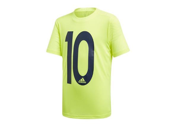 Lasten jalkapallopaita Adidas JR Messi Icon Jersey Junior DV1318