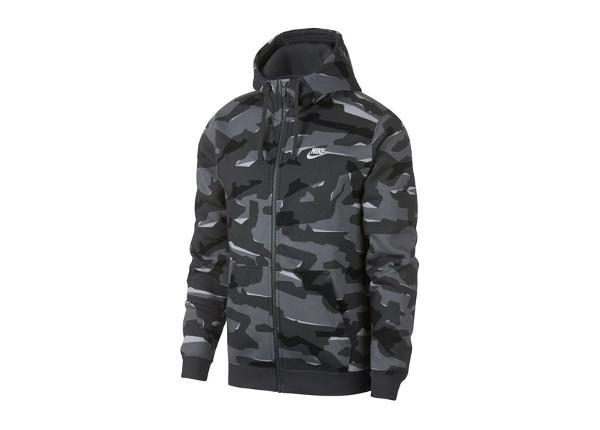 Dressipluus meestele Nike NSW Club Camo Hoodie FZ M AJ2105-065