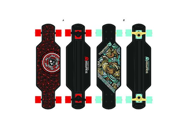 Longboard BUFFY 29 CONTROL Tempish