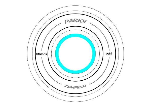 Rula rataste komplekt LB 60x45 82A Tempish