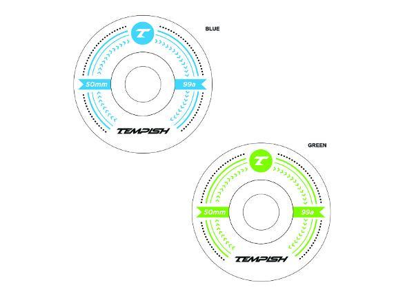 Rula rataste komplekt LB 50x36 99A Tempish