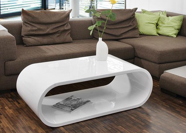 Korkeakiiltoinen sohvapöytä 120x60 cm AY-201109