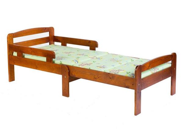 Удлиняющаяся детская кровать Kiku 75x100+42+42 cm