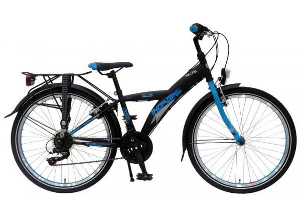 Городской велосипед для мальчиков Thombike 21 передач 24 дюйма