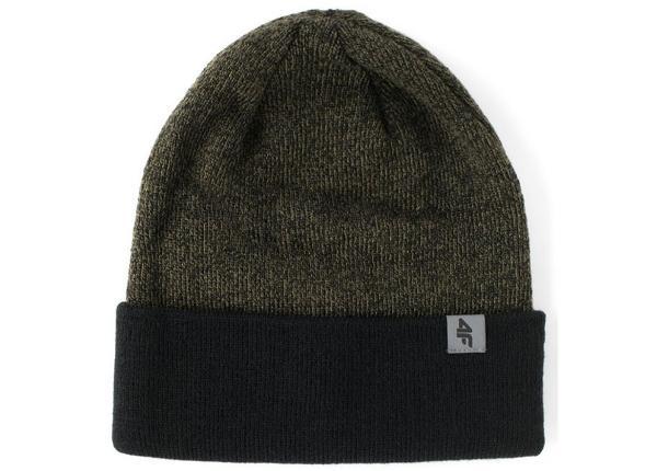 Miesten talvipipo 4F M H4Z17-CAM010 vihreä musta