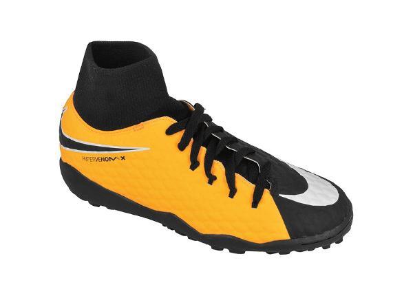 Детские футбольные бутсы Nike HypervenomX Phelon III DF TF Jr 917775-801