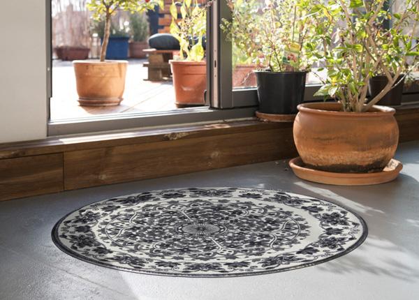 Pyöreä matto Zimra grey Ø 115 cm A5-203280