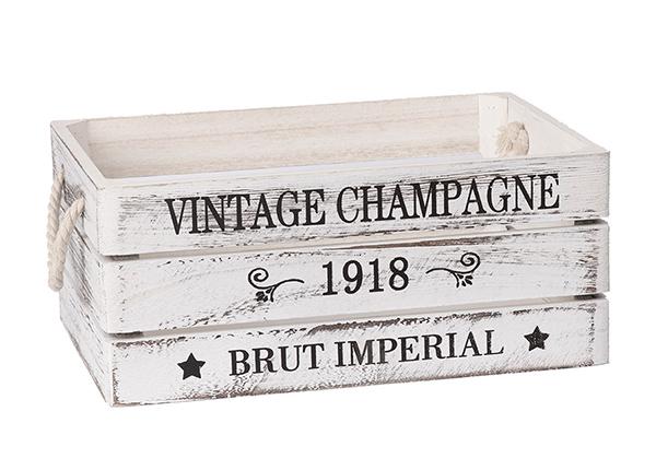 Puulaatikko Vintage 35x25xH15 cm