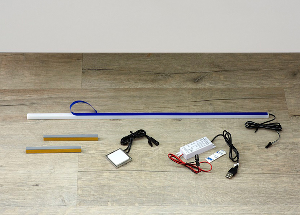 LED-valaistus akulla Balu kaappiin