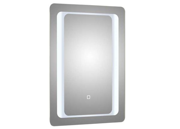Peili LED-valaistuksella Capri 70x50 cm