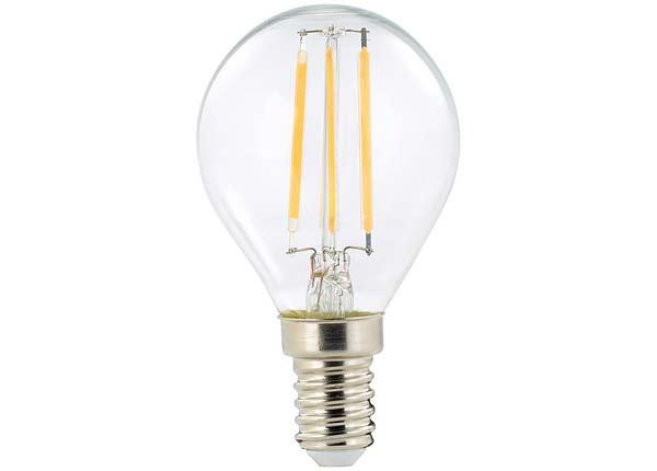 Hõõgniidiga LED pirn E14 2 W 3 tk