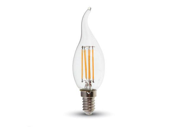 Hõõgniidiga LED pirn E14 4 W 3 tk