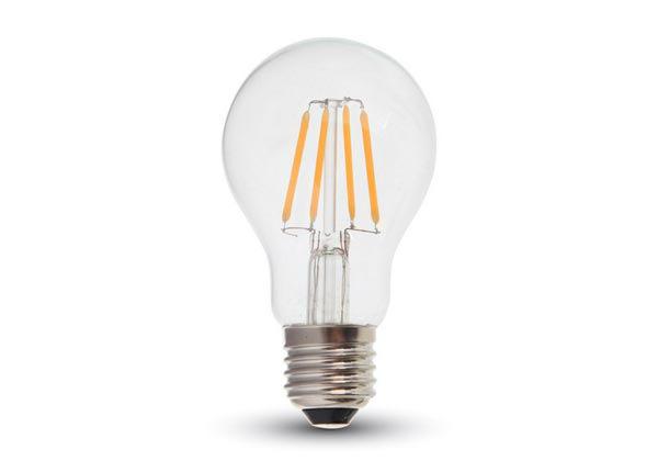 Hõõgniidiga LED pirn E27 6 W 3 tk