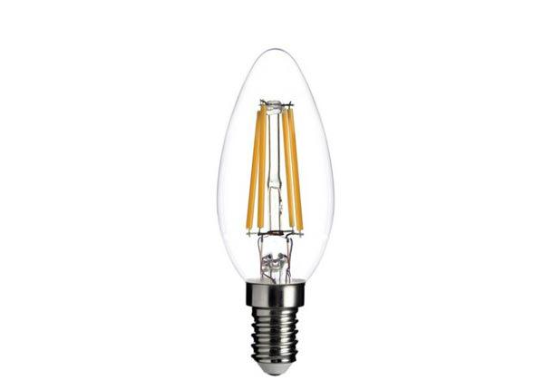LED lamppu hehkulangalla E14 4 W 3 kpl RT-203817