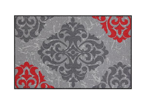 Vaip Ornamentweg grey red 50x75 cm