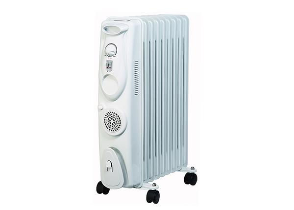 Õliradiaator Gils 2000 W + soojapuhur 400 W