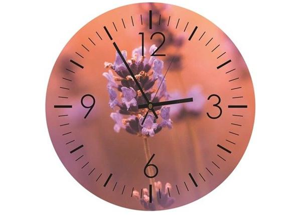 Настенные часы с изображением Lavender time
