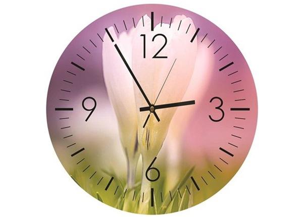 Настенные часы с изображением White crocus