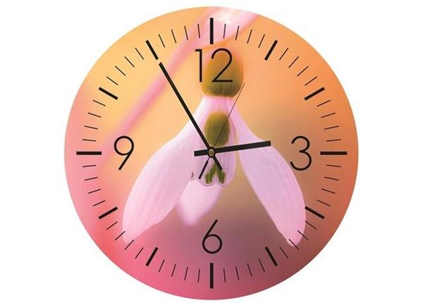 Настенные часы с изображением Snowdrop
