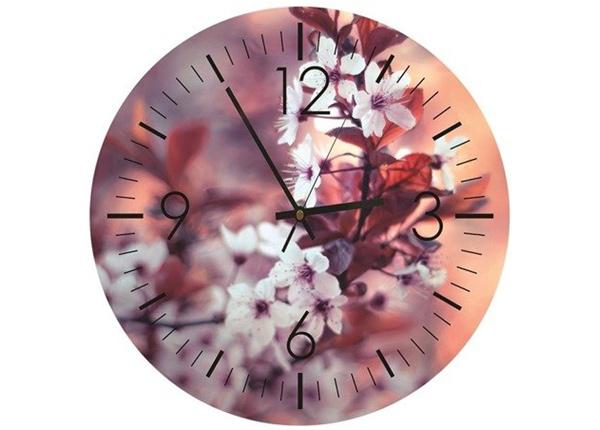Настенные часы с изображением Cherry