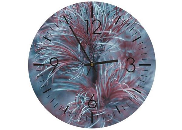 Настенные часы с изображением Coniferous time