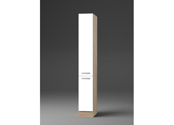 Korkea ulosvedettävä keittiönkaappi Zamora 30 cm