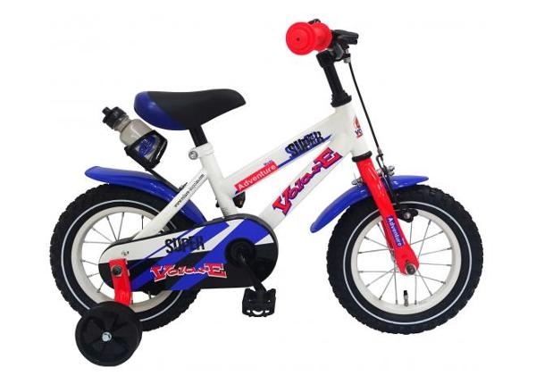 "Lasten polkupyörä Super White 14"" Volare"
