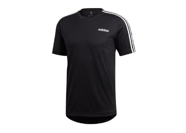 Miesten treenipaita adidas D2M Tee 3S T-shirt M DT3043