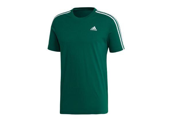 Miesten treenipaita adidas T-shirt Essentials 3-stripes Tee M CZ7342